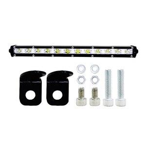 Image 3 - 13 นิ้ว 36W Led Light BarดัดแปลงไฟOff Road Light Light Bar Comboน้ำท่วมทำงานหมอกไฟหน้าสปอตไลท์ 6000K