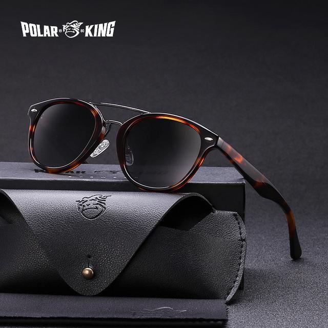 POLARKING 8045 Acetate Polarized Sunglasses
