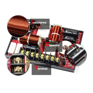 Image 5 - Tenghong 3 Way głośnik Audio Crossover 200W tonów wysokich Mediant bas Auto zwrotnica częstotliwości do głośnika głośnik samochodowy modyfikacji DIY