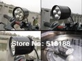 Free ship 1set Moto LED Work Spot Light 30W Cree led chip XMLT6 LED Motorcycle led headlight with switch clamps