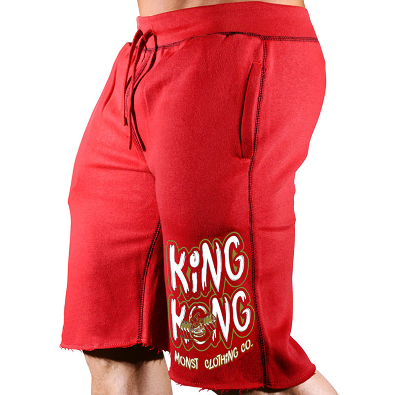 New Muscular Giants 2019 Quality Men Brand Fitness Shorts Mens Professional Bodybuilding Short Pants Brand Big Size M-XXXL