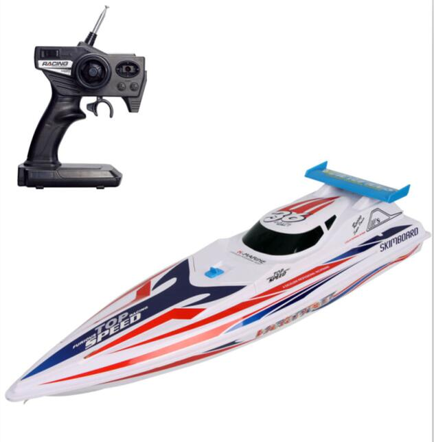 high speed speedboat remote control boat HQ948 double motor High simulation model electric boat boat water toy for best gift toy free shipping rc boat dh 7009 2 4g 4ch double motor high speed racing boat remote control speed boat electric toy gift for chil