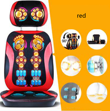 Neck lumbar back massage cushion/Household whole body Multi-function electric massager/Free split design/110904/05