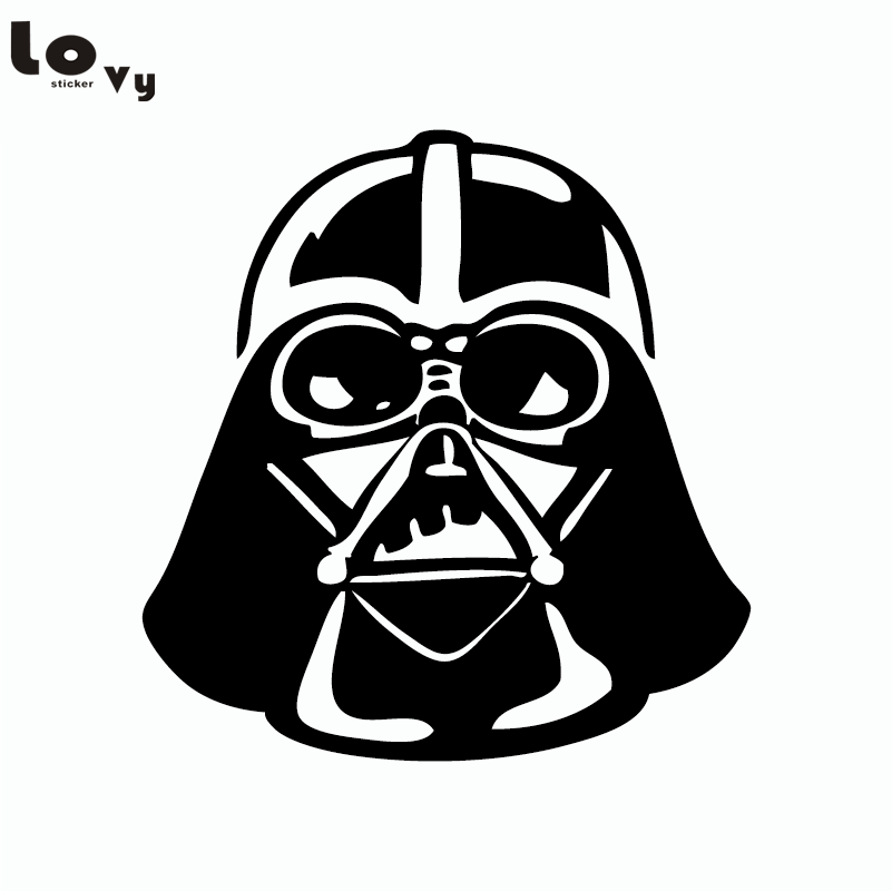 Classic Movie Star Wars Wall Sticker Cartoon Darth Vader