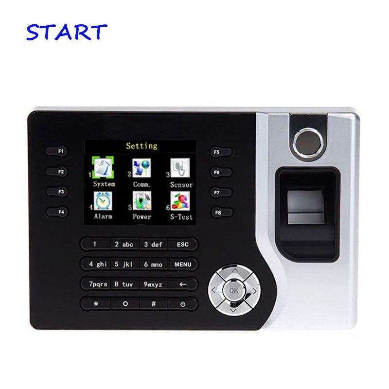 Free Shipping A-C071 TCP/IP Biometric Fingerprint Time Clock Recorder Attendance Employee Electronic Punch EM Card Reader