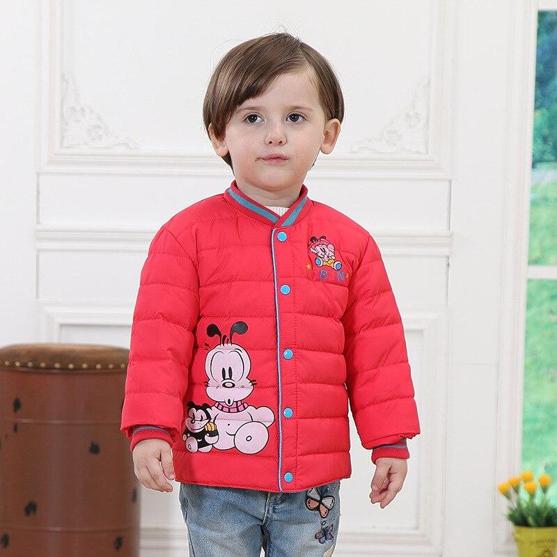 New Winter Boy Girls Down Jacket Outerwear Children Brand Down ...
