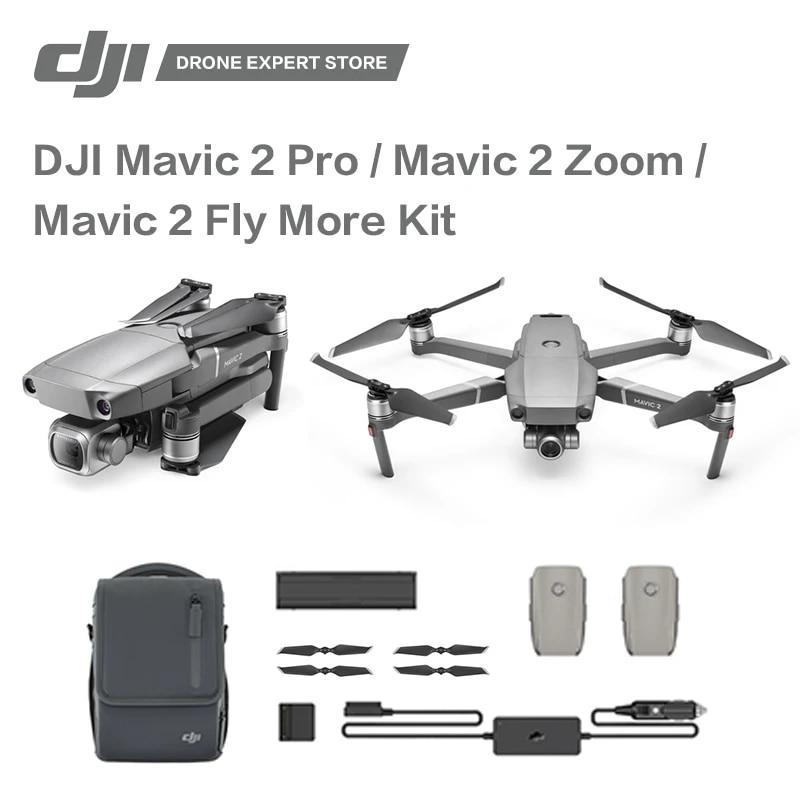 Original Dji Mavic 2 Pro Mavic 2 Zoom Mavi 2 Fly More Kit Drone With Camera 4k Video Professional Aerial Photography Camera Drones Aliexpress