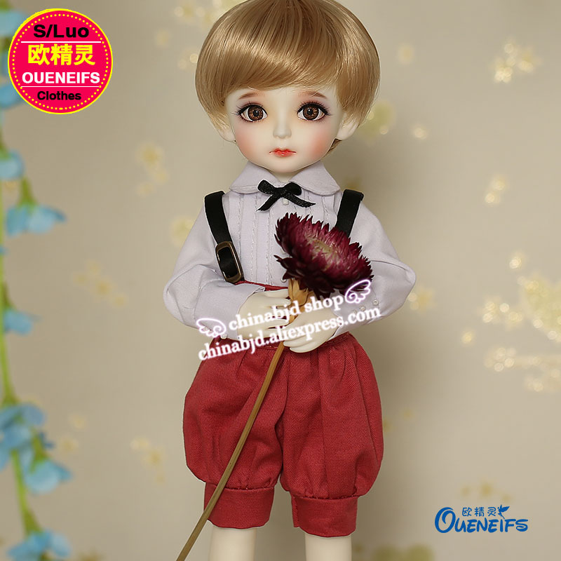 OUENEIFS free shipping girl boy white shirt High-waisted flared trousers 1/6  bjd sd doll clothes, have not doll or wig  YF6-108 1 6 scale doll nude bjd recast bjd sd cute boy resin doll model toys not include clothes shoes wig and other accessories a1808