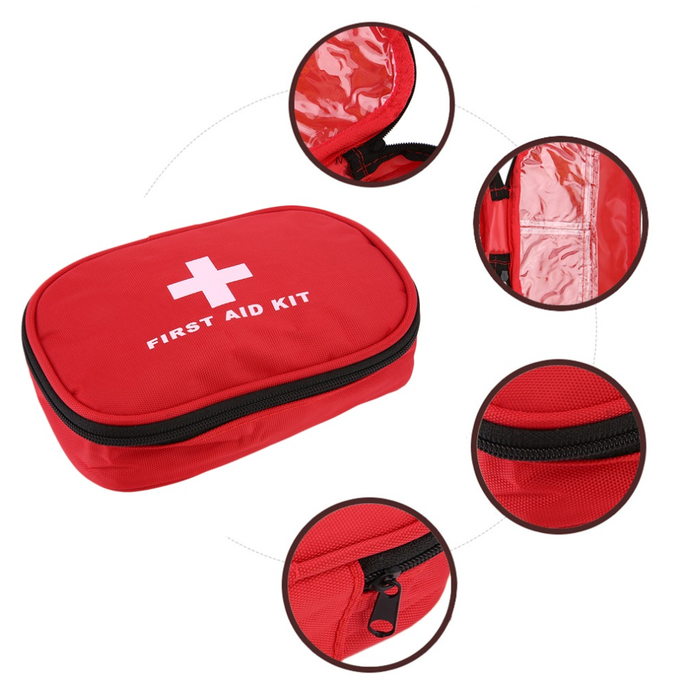 Emergency survival bag Mini Family First Aid Kit Sport Travel kits Home Medical Bag Outdoor Car First Aid Bag 19pcs high quality outdoor travel first aid kit car first aid bag home small medical box emergency survival kit size 21 13 5 5cm