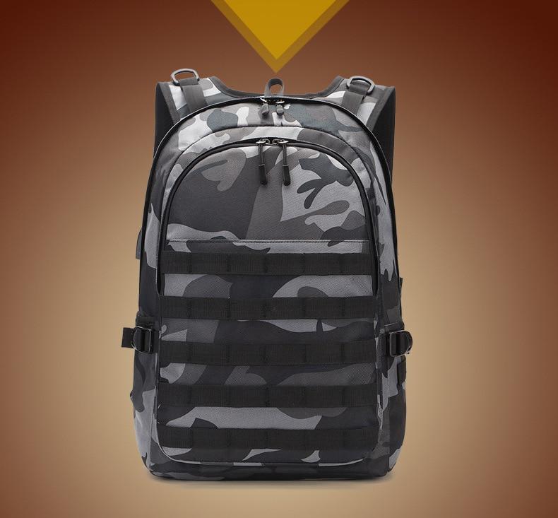 Sac à dos Camouflage voyage entoile