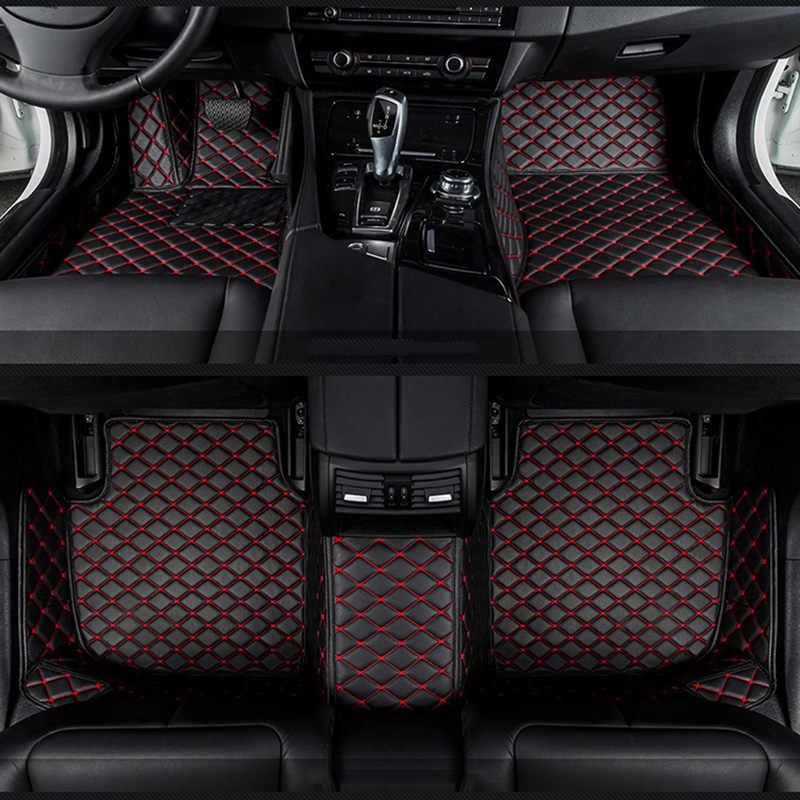 Tappetini auto per Suzuki Jimny Grand Vitara Kizashi Swift SX4 Wagon R Tavolozze Stingray auto-styling auto Personalizzate tappetini rosa