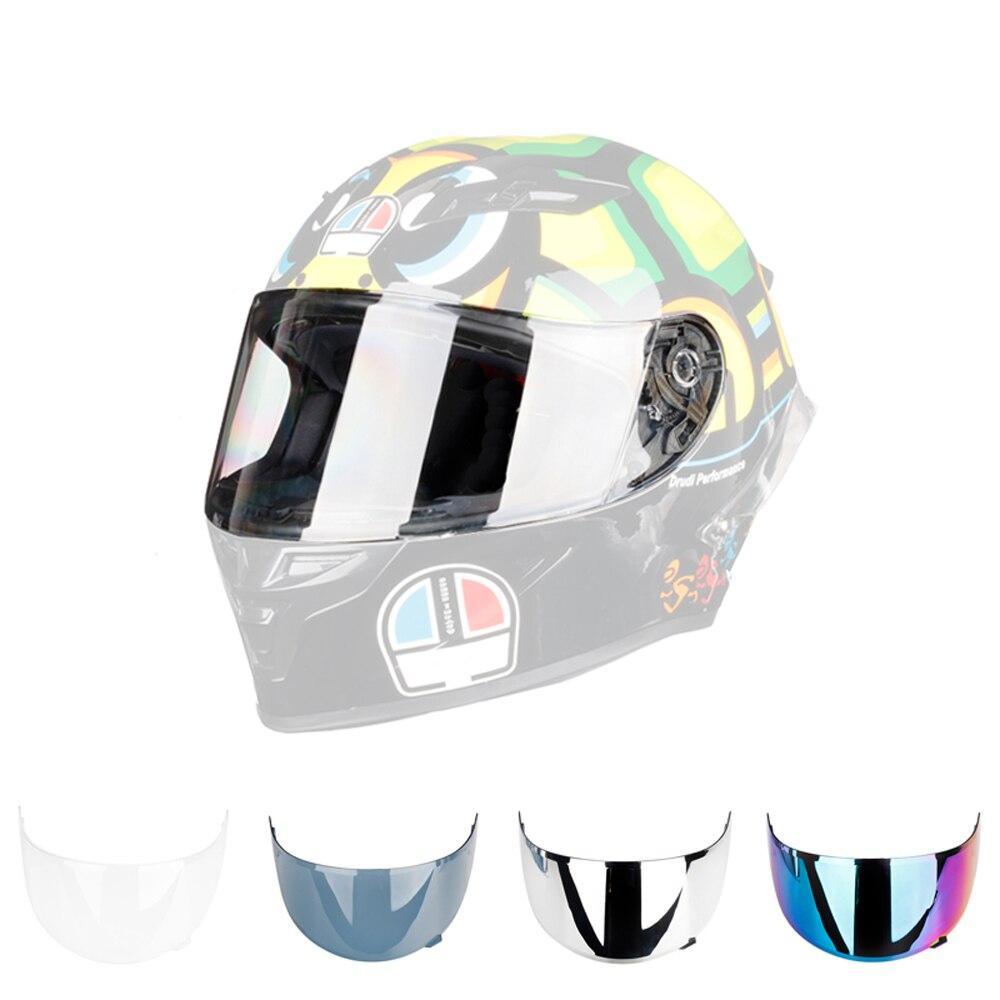 Chrome Colorful Visor Lens for 0700E Full Face Motorcycle Helmet|Helmets| |  - title=