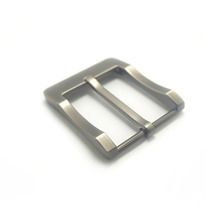 Image 4 - מתכת 4cm חגורת אבזם גברים של מזדמן סוף בר העקב בר סיכה אחת חגורת חצי אבזם עור קרפט ג ינס חגורה fit עבור 38mm חגורה
