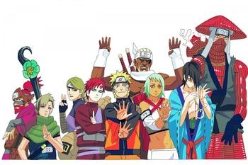 Custom Canvas Art font b Naruto b font Poster font b Naruto b font Wall