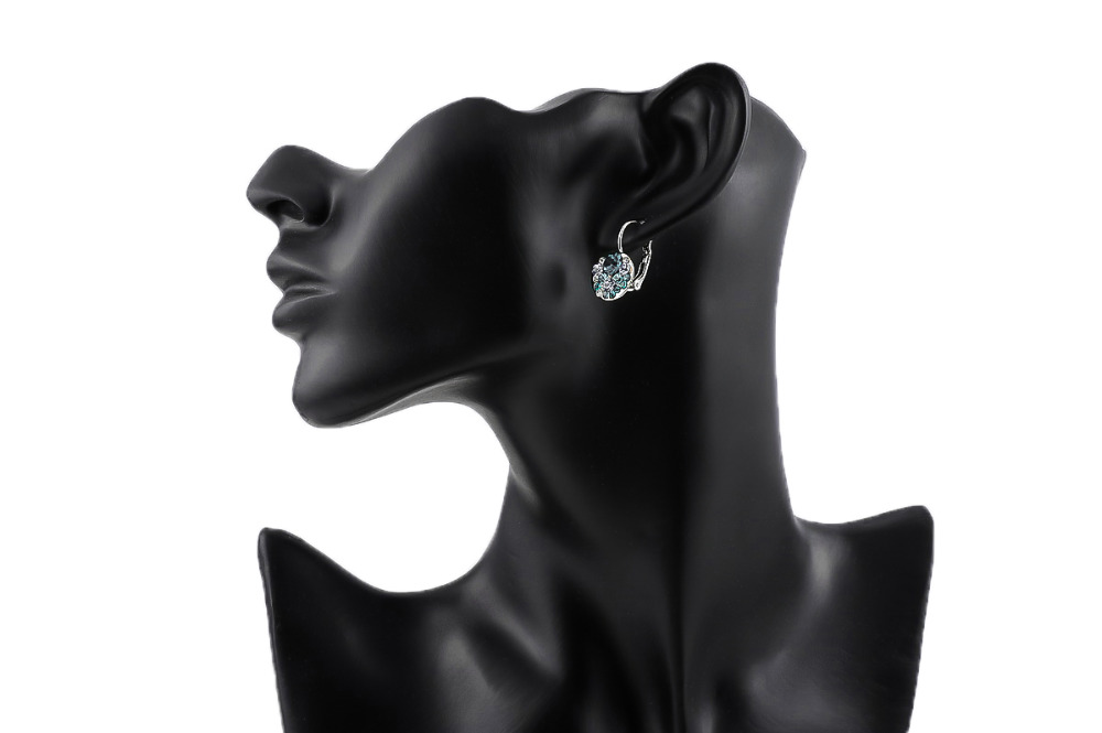 GS Ականջօղեր Կանացի Զարդեր AAA ցիրկոն - Նորաձև զարդեր - Լուսանկար 6