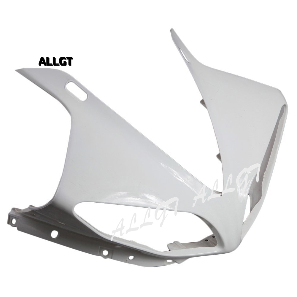 ALLGT for YAMAHA YZF R1 2009 2010 2011 2012 Motorcycle Injection Moulding Unpainted Upper Front Cowl Nose Fairing