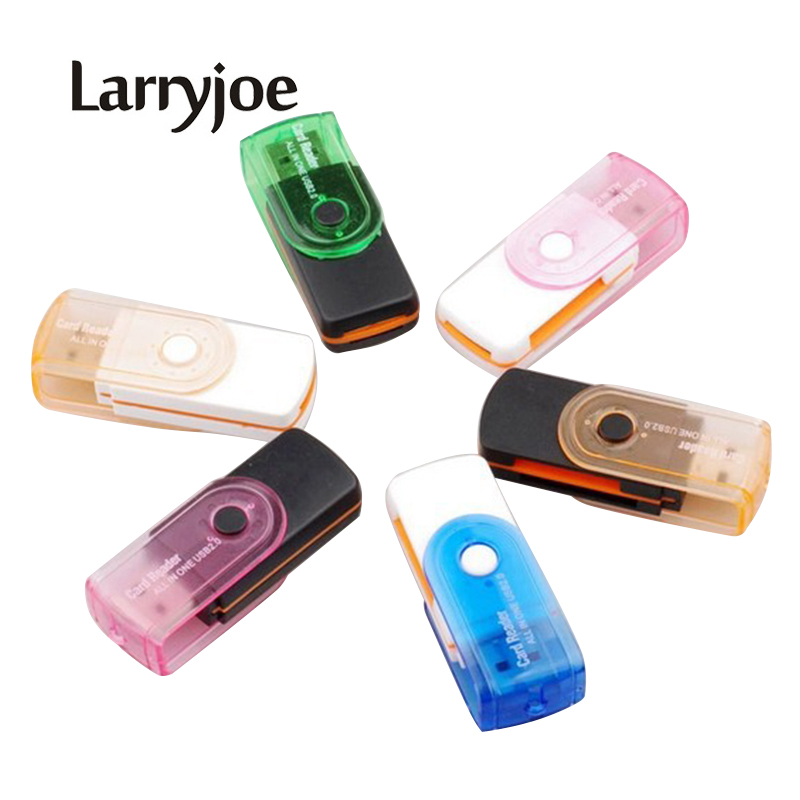 Computer & Office Enthusiastic Larryjoe 4 In1 Usb 2.0 High Speed Multi-function All In 1 Ms M2 Sdhc Tf Mmc Micro Sd U-flash Memory Card Reader Random Color Neither Too Hard Nor Too Soft Memory Cards & Ssd