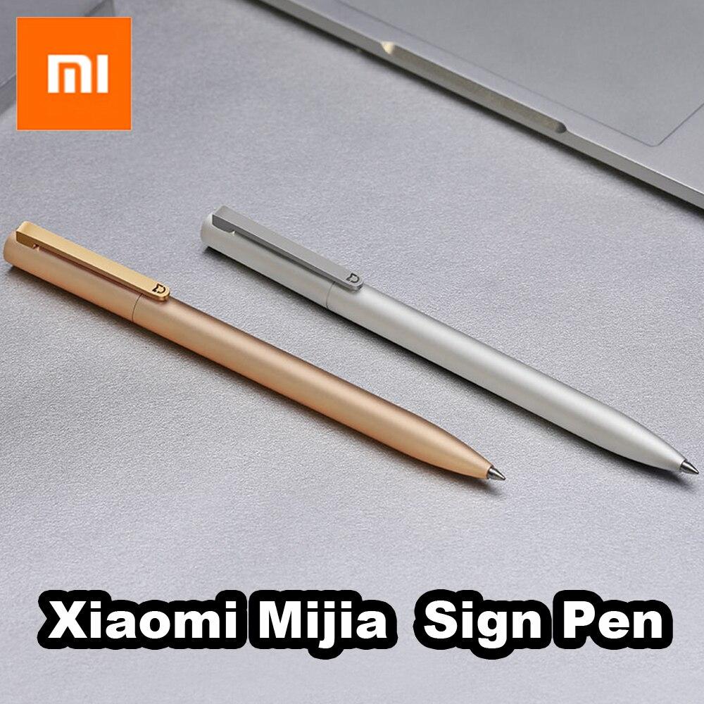 100% Xiao Mi Mi Jia Metall Zeichen P-ens Mi 9,5mm Unterzeichnung P E N Premec Glatte Schweiz Refill Mi Kuni Japan Tinte Schwarz ZuverläSsige Leistung
