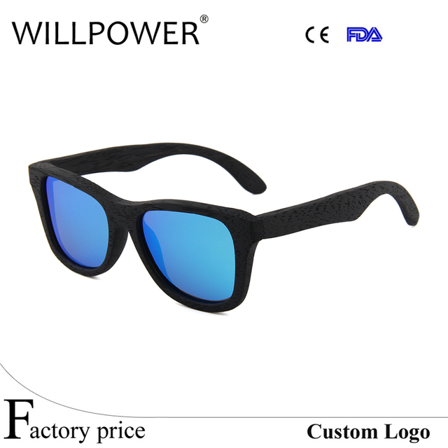 ff47c38242 2017 New Bamboo Sunglasses Men Wooden Sun Glasses Women Brand Designer  Handmade Mirror Original Wood Sunglasses Polarized