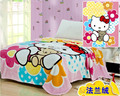 Aden anais quente hello kitty 100% coral cobertor de lã caricatura cobertor sobre a cama, cobertores no Sofá cobertor Do Bebê