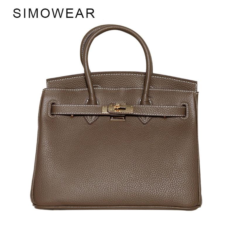 SIMOWEAR Classic It Bag Brand Design Women Handbags High Quality Genuine Leech Cowskin Saffiano Shoulder Bag All-match Lady Bag leech therapy