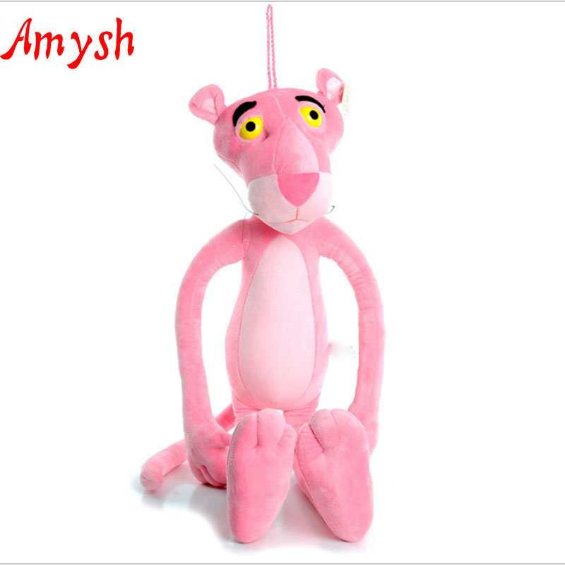Amysh HOT toys 75CM creative soft plush doll cute pink panther Appease Doll Baby baby kids toys Hold Muppet Toys gifts for kids plush ocean creatures plush penguin doll cute stuffed sea simulative toys for soft baby kids birthdays gifts 32cm