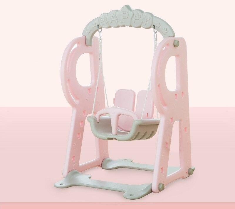 Lk83 детский Крытый и открытый Пластик Регулируемый swing стабильный и Детская безопасность висит стул высокое качество детские дети играют игрушки - 2
