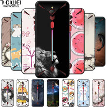 For ZTE Nubia Red Magic 3 Case Magic3 Soft Silicone Fashion TPU Back Cover For ZTE Nubia Red Magic 3s Cover 6.65'' NX629J coque(China)