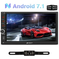 Pumpkin 2 Din 7 Android 7 1 Univeral Car Radio No DVD Player GPS Bluetooth Wifi