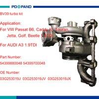 Bv39 turbo parte turbina roda para vw audi skoda assento bls bxe bxj bsu motor diesel 54399880048 54399700048 03g253019j|wheels for|wheels for vw|wheels wheel -
