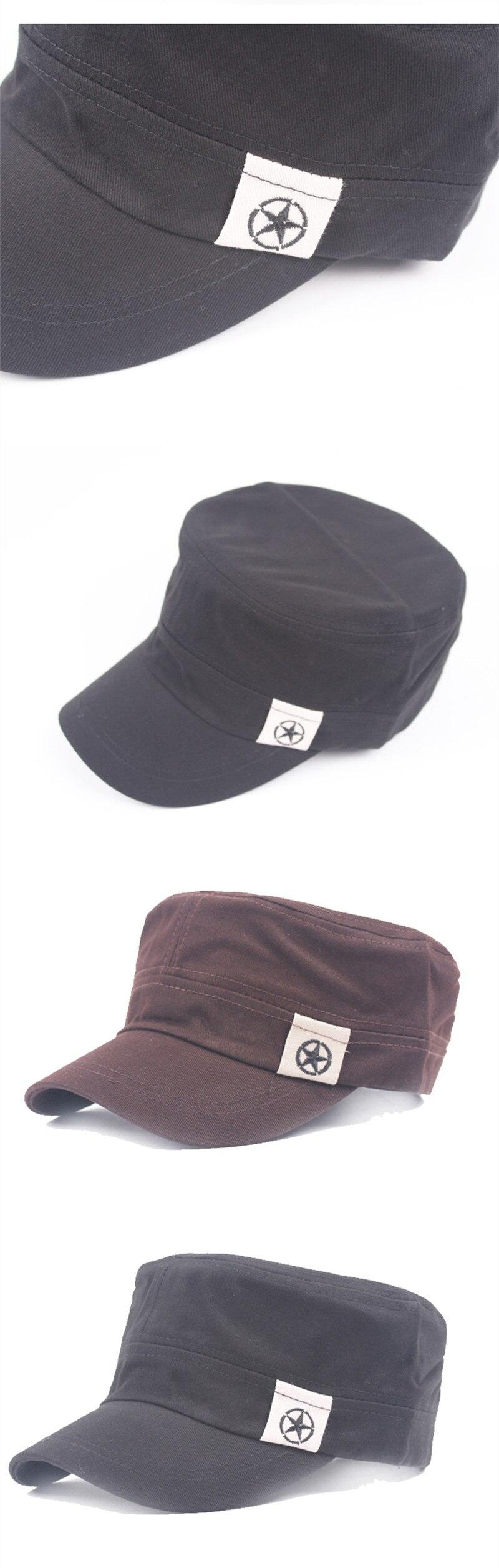 bfff00931368 XdanqinX gorra de algodón de moda militar del ejército sombreros nuevos  hombres de marca de hueso de hombre gorra de visera de tamaño ajustable ...