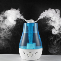 Free Shipping Air Humidifier Ultrasonic Aroma Diffuser Humidifier For Home Essential Oil Diffuser Mist Maker Fogger