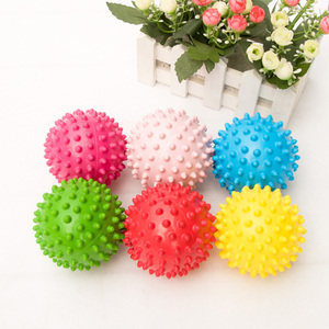 1PC Funny Squishy Stress Ball Baby Toys Soft Children Inflatable Massage Ball Squeeze Bouncing Ball Kids Educational Toys Gift
