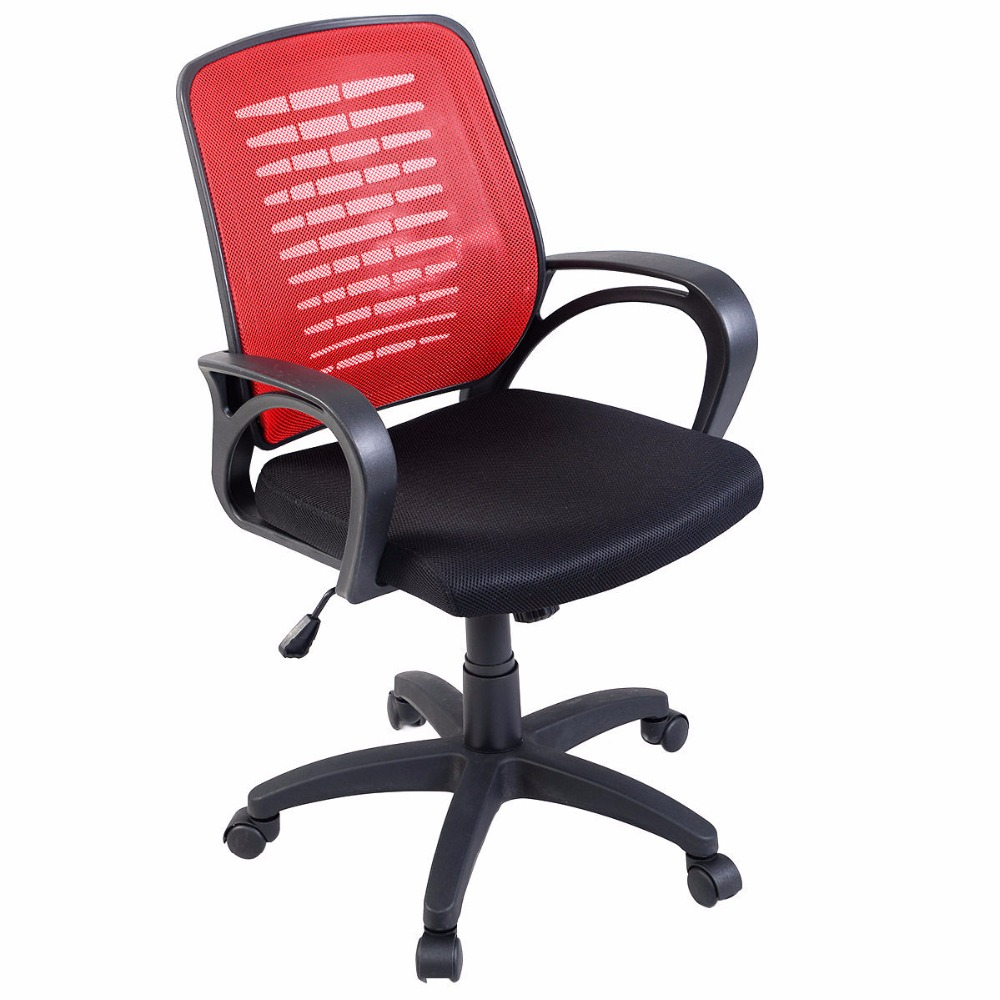 Modern ergonomic office chairs - Goplus Modern Ergonomic Mesh Mid Back Executive Computer Desk Task Office Chair Hw51419
