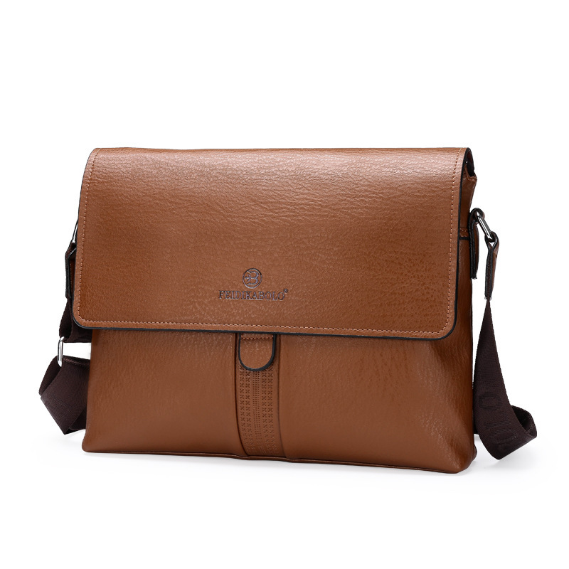 2016 Fashion Genuine Leather Men Briefcase Cowhide Men's Messenger Bags Laptop Business Bag Luxury  Handbags-in Laptop Bags & Cases from Computer & Office    1