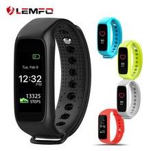 2017 LEMFO L30t bluetooth умный браслет динамические пульса монитор цветной tft-lcd экран смарт-браслет для ios android смартфона