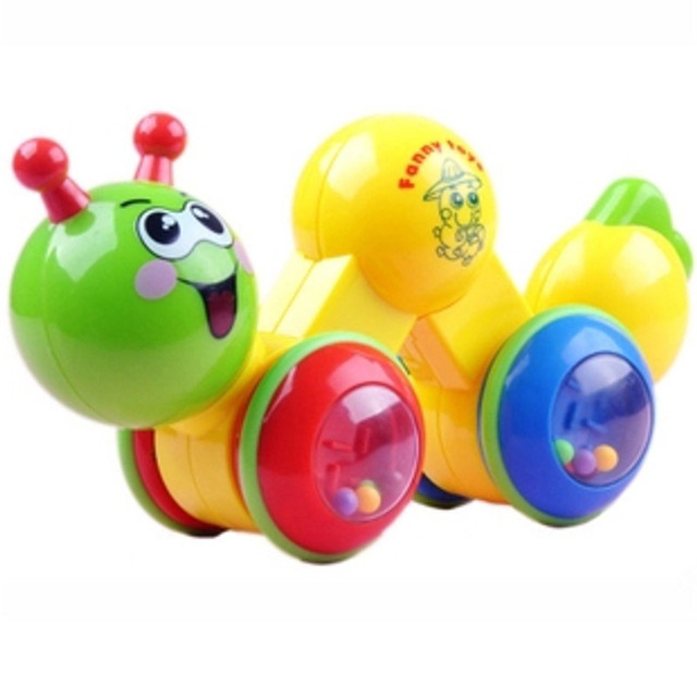 Lovely Crawl Palmerworm Toy For Infant Baby Learning Walking Transformable Colorful Early Educational Intelligence Develope