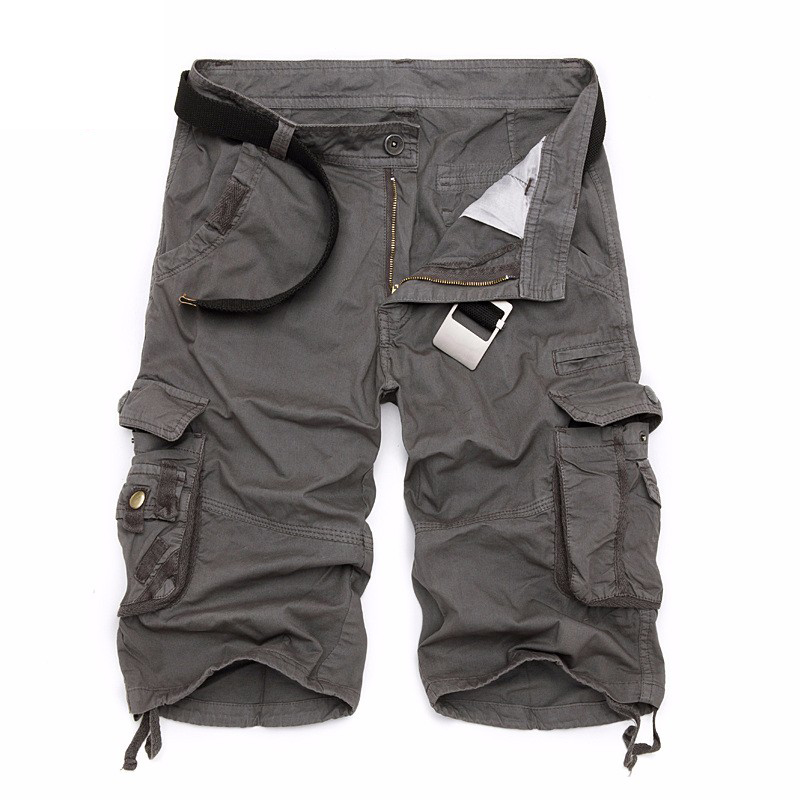 Closeout DealsMountainskin Clothing Jogger-Board Cargo-Shorts Military Male Men's Camo Cotton Summer
