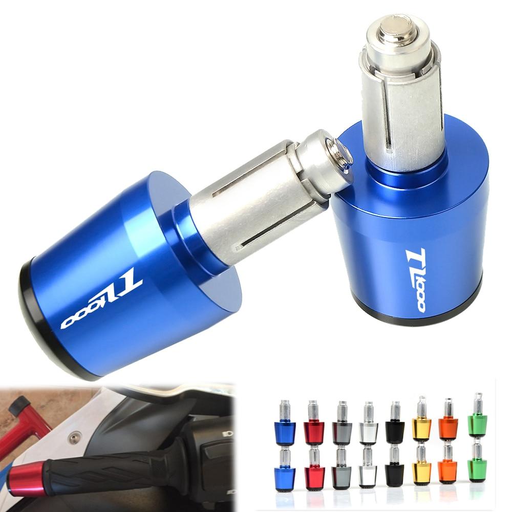For SUZUKI TL1000R TL 1000R TL 1000 R S TL1000S TL 1000S TL 1000 S CNC Motorcycle Handlebar Grips Slider Plug 22 MM Hand Bar End