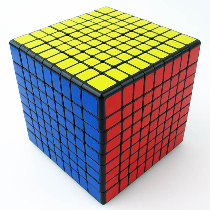 SS99 ShengShou 9x9x9 Magic Puzzle 92mm Cubo Magico 9x9 Speed Cube Black Twist 9 Layers Game