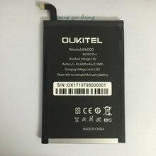 2018 новый 100% IST оригинальный K6000 про мобильный телефон Батарея для Oukitel K6000 реальные 6000 мАч Высокое качество замена Батарея