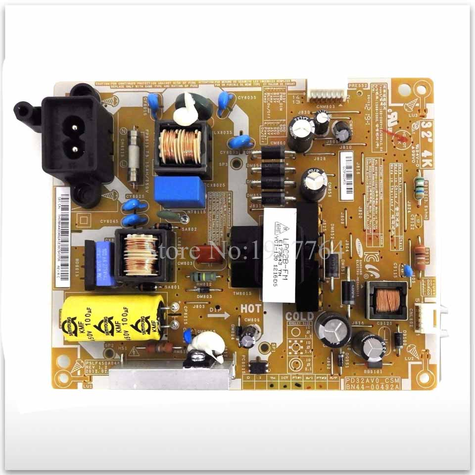 power board UA32EH4000R UA32EH4080R BN44-00492A used Power Supply Board second-hand power supply board ua46es5500r bn44 00502a pd46a1 csm power board good board used