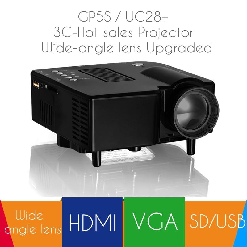 Mini Proyector LED Full HD LCD 100 Lúmenes Multimedia Protable Inicio Proyector