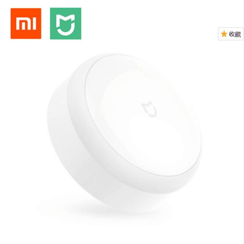 Original Xiaomi llevó corredor Night Light Sensor de movimiento del cuerpo para Xiaomi Control remoto por infrarrojos NightLight Smart Home lámpara de noche