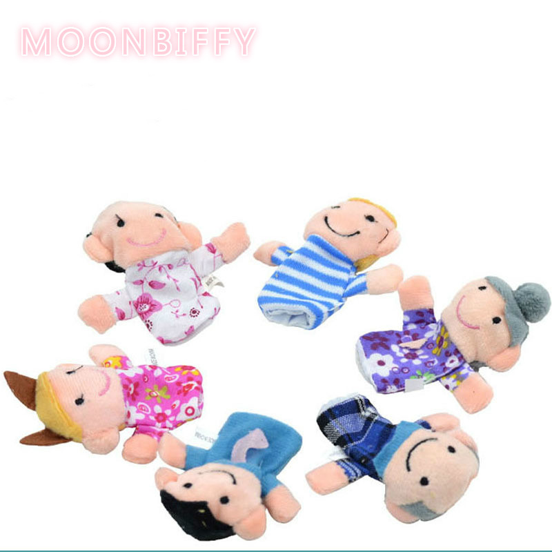 1Pcs-Family-Finger-Puppet-Cloth-Doll-Baby-Educational-Hand-Toy-Story-Funny-Kids-Doll-Toy-2