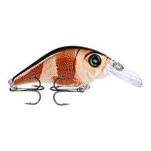 2018 New Crankbait 10 Color 1PC Fishing lure Hard Bait 3.07-7.8cm/0.42oz-12g Crank Tackle 6# Hook Style