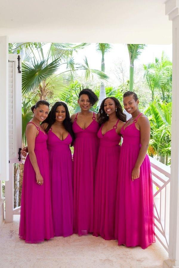 Popular Fuschia Bridesmaid Dresses-Buy Cheap Fuschia Bridesmaid ...