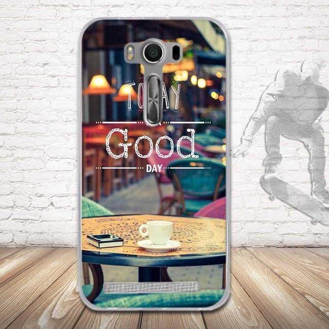 Étui Asus de téléphone ZenFone 2 Laser ZE500KL 5.0 pouces étuis en silicone impression de luxe étui en polyuréthane thermoplastique souple pour ASUS Zenfone ZE500KL couverture