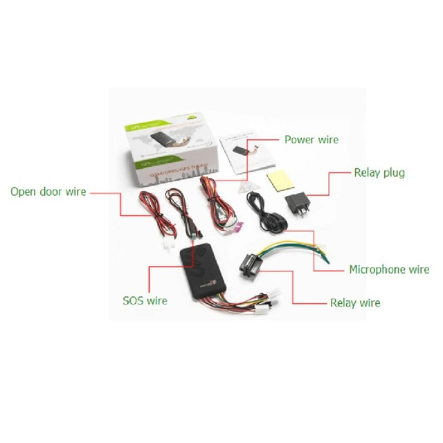 GPS Realtime GSM GPRS GPs | GT06, pour voiture véhicule moto système anti-vol localisateur GPS pour voiture, nouveau X2