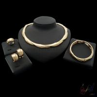 Yulaili Silver Gold Color Bridal Jewelry Sets And More With Copper Alloy For Women Anniversary High